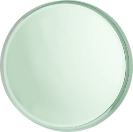 wall mirror oliver - diameter 50 cm