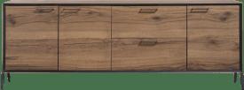 dressoir 240 cm - 3-deuren + 2-laden (hoogte 88 cm)