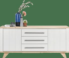 sideboard 190 cm - 2- tueren + 3-laden
