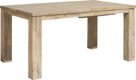 table a rallonge 160 (+ 60) x 100 cm - aad