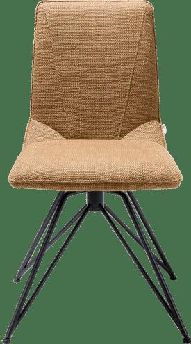 chaise - pied off black - vito + poignee catania noir
