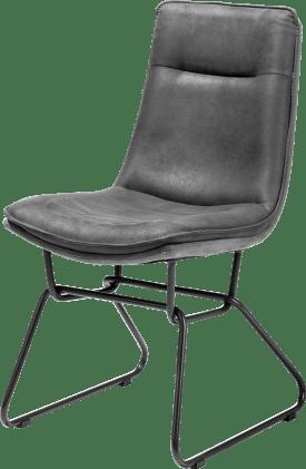 chaise - pied metal avec poignee - tissu savannah/kibo combi