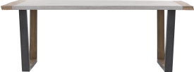 bartafel 240 x 100 cm (hoogte: 92 cm)