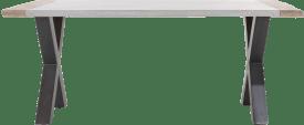 bartafel 210 x 100 cm (hoogte: 92 cm)