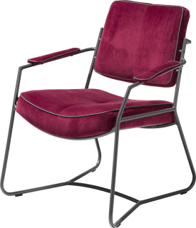 fauteuil - antraciet frame