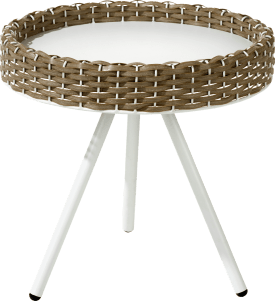 table d'appoint maison small - diametre 40 cm