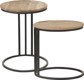 2 tables d'appoint karo