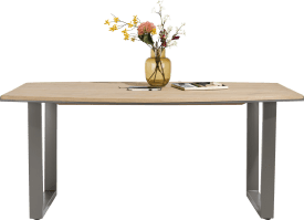table 200 x 100 cm - pied forme v