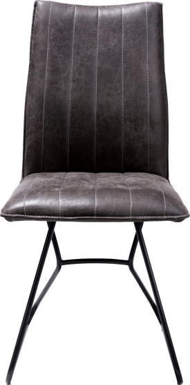 chaise - off black - tissu secillia