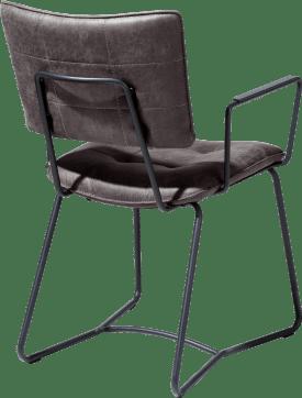 armlehnstuhl - gestell schwarz - corsica