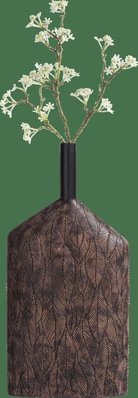 vaas margot large - bruin - hoogte 55,5 cm