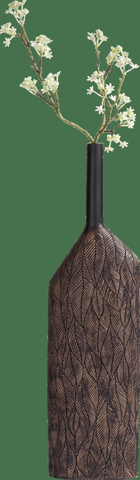 vaas margot xl - bruin - hoogte 69 cm