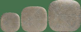 wanddeco lena - set van 3 - goud