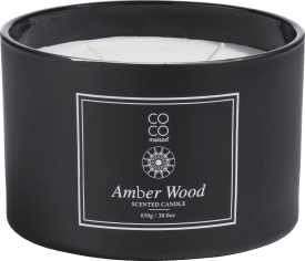 bougie parfume xl amber wood