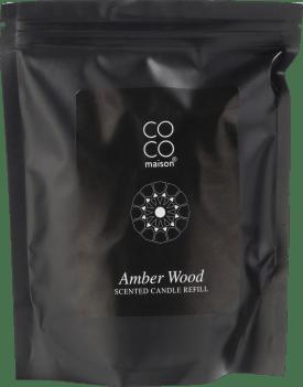 auffueller duftkerzen amber wood