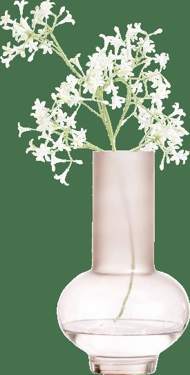 vase charlotte large - pink