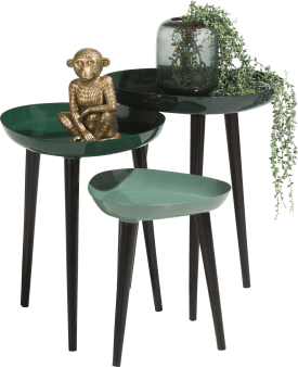 3 occasional tables austin - green
