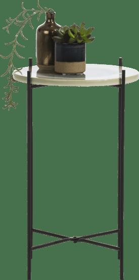 bijzettafel eva - 30 x 30 cm - multicolour