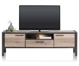 lowboard 190 cm - 2-portes + 1-tiroir + 1-niche (+ led)