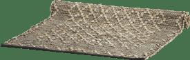 teppich albury - 90 x 150 cm - leder