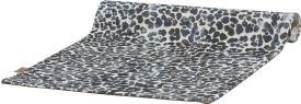 tapis leopard - 90 x 150 cm - 100% polyester