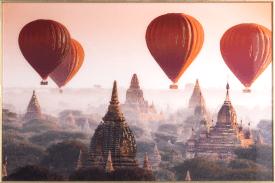 air balloon fotoschilderij 80x120cm