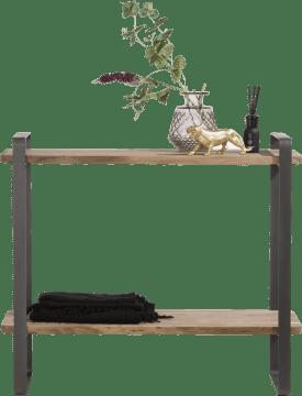 bijzettafel rosetta - 35 x 95,5 cm + 1-niche