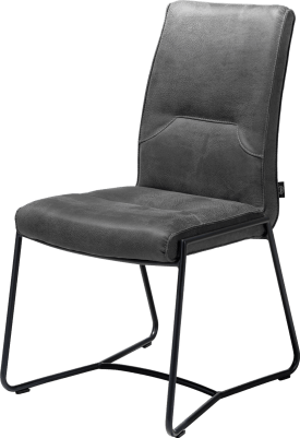 chaise - cadre off black