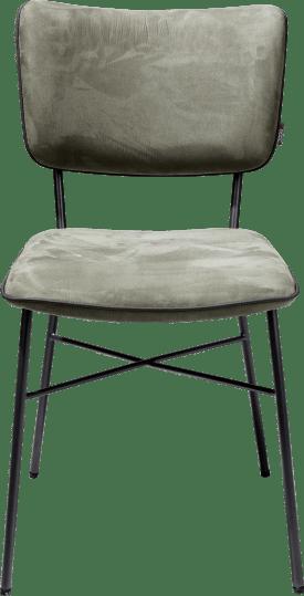 chaise - dos multiplex anthracite - tissu savannah