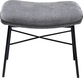 hocker bei lounge sessel - tissu enova