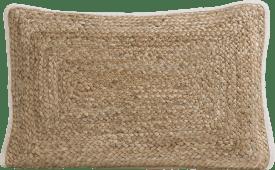 cushion jute 40 x 60 cm