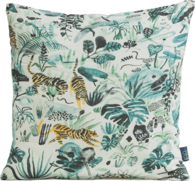 coussin crazy jungle - 45 x 45 cm