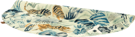 tapis crazy jungle - exterieur - diametre 145 cm