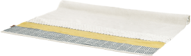 tapis lis - 160 x 230 cm - exterieur - 100% polyester
