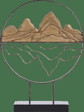 beeld mountains - hoogte 52 cm