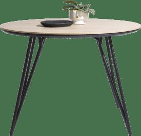 table de bar ronde 130 cm. (hauteur: 92 cm.)