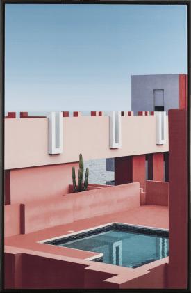 schilderij arizona - 94 x 144 cm
