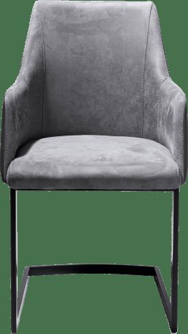 guiliette, armlehnstuhl schwarz (rob)