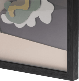 3-d wand-objekt madame - 60 x 60 cm