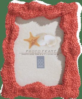 cadre de photo coral 18 x 23 cm