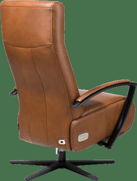 relaxfauteuil 3-motorig elektrisch met electrische hoofdsteun inclusief