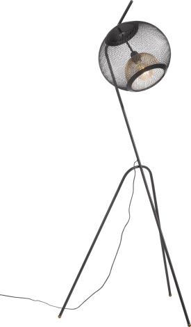 marco, floor lamp 1-light (e27) with dimmer