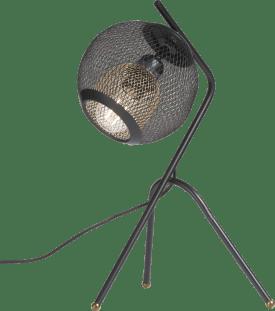 marco, tischlampe 1-flammig (e27) mit dimmer