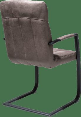 fauteuil - cadre noir - 3 couleurs rocky + poignee