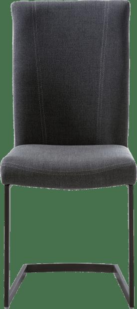 eetkamerstoel - zwart swing recht - greep recht