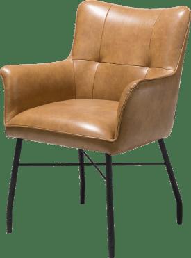fauteuil + ressorts ensaches - avec poignee en catania noir - laredo