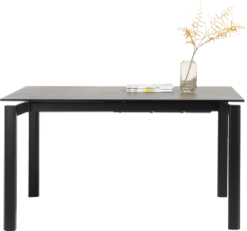 table a rallonge 140 x 100 cm (+ 60 cm)