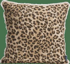 leopard print kussen 45x45cm