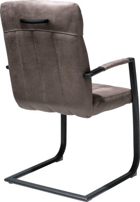 armlehnstuhl - schwarz gestell