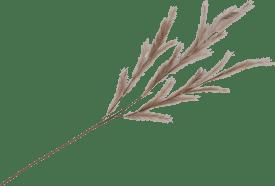 feather spray - 130 cm